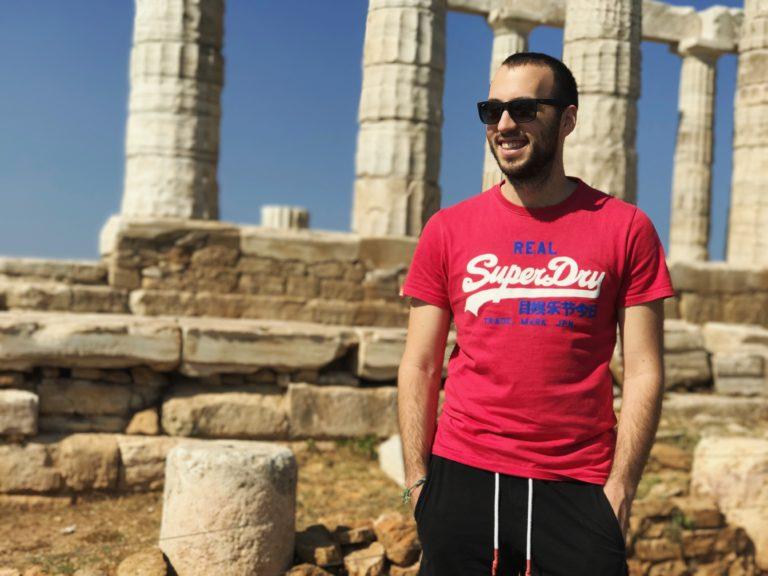 Dimitris at Sounio
