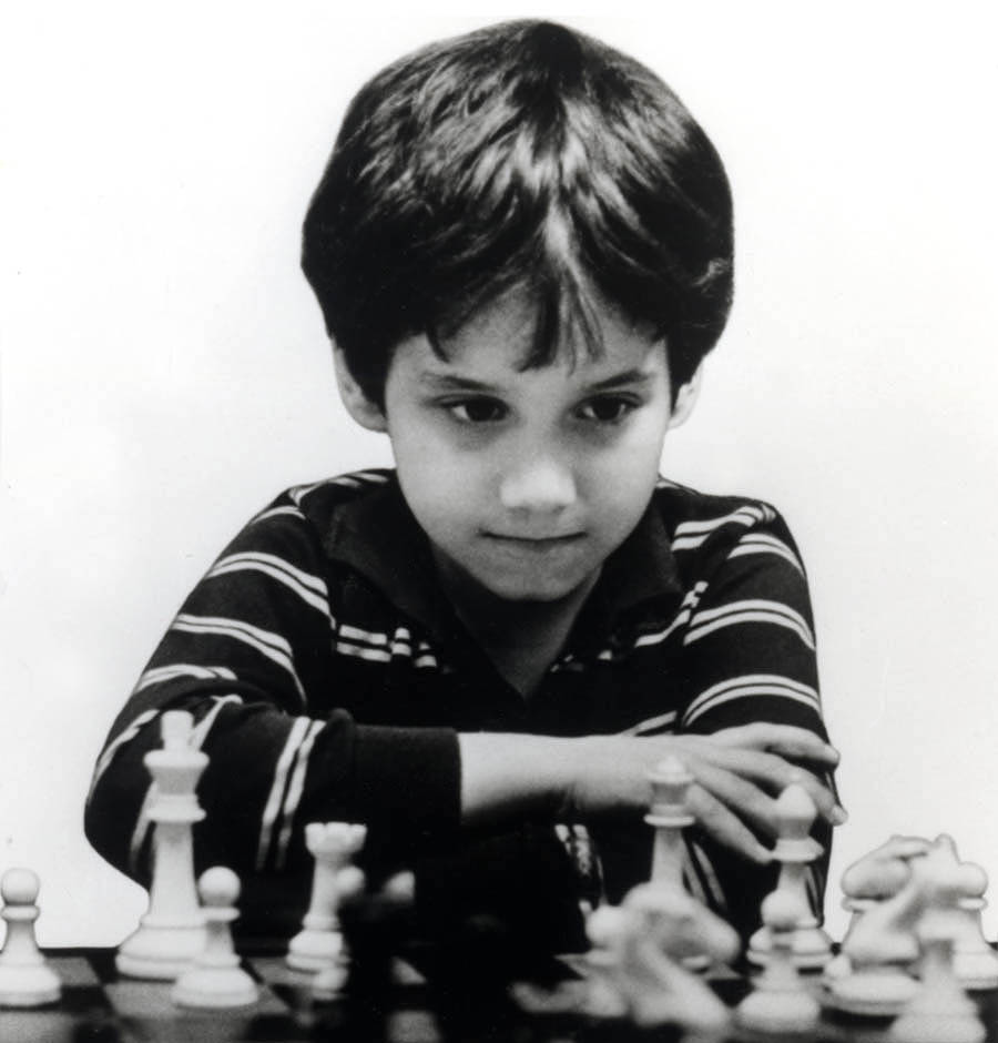 Young Josh Waitzkin Playing Chess